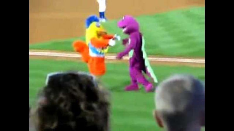 Best Mascot Battle EVER