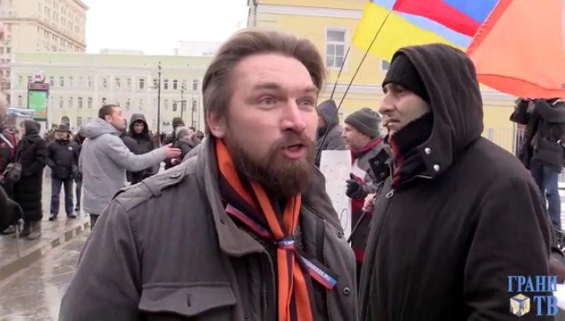 С говном в пакетиках за Путина (видео)