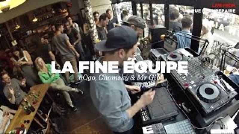 La Fine Équipe (oOgo, Chomsky Mr Gib) • Live Set • Nowadays Records Takeover 2 • LeMellotron.com