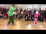 AJ The Cypher Cat vs B-Girl Terra Final @King of The B-Boys