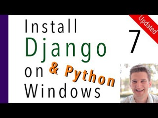 Install Django and Python on Windows 7 of 7 Command Prompt vs Terminal