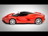 MZ 1:14 Ferrari La Ferrari r/c models + Joystick 2 (opening doors)