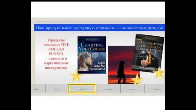 Five Dollar Funnel Презентация Маркетинг Рабочий Кабинет