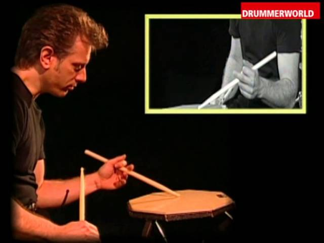 Dave Weckl Drum Clinic: Double Stroke Roll One Handed Roll