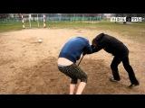 Шоу «Идиоты» Пьяный футбол