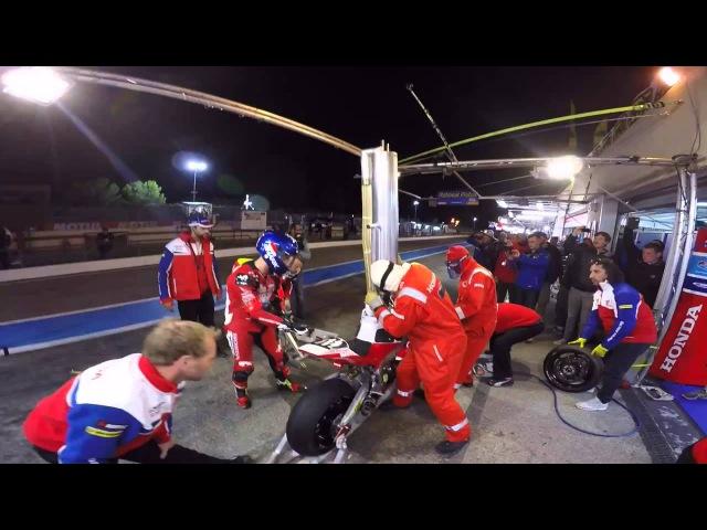 Honda Endurance Racing 2015 Bol d'Or Night Pitstop