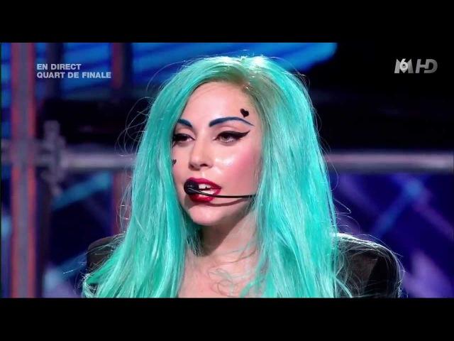 Lady Gaga - The Edge of Glory Judas X FACTOR France