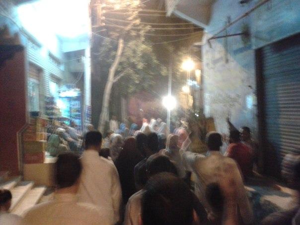7 تظاهرات حاشدة ببنى سويف ضد احاله 258 ببنى سويف للقضاء العسكرى