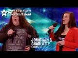 Оперный дуэт Джонатан и Шарлотта  на прослушивании в шоу Британия ищет таланты (2012 год)