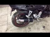 Suzuki Bandit 400 глушитель+проводка
