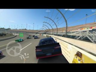 Гонка Nascar в Real racing 3 (машина Ford Fusion)