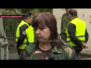 Украинская сторона передала тела погибших бойцов армии ДНР (видео)  Новости — 14.09.2015— 14 сентября в Донецке украинской сторо