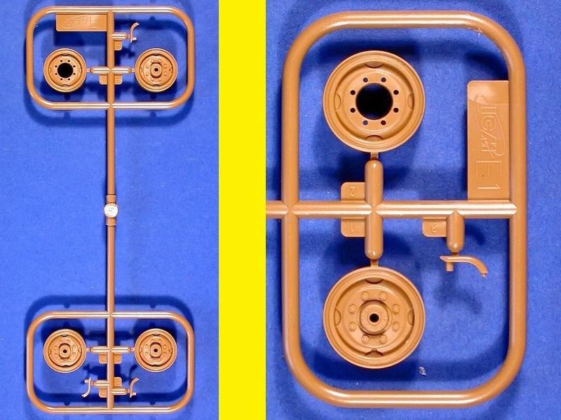 Бронетехника 1/35 - Содержимое коробок