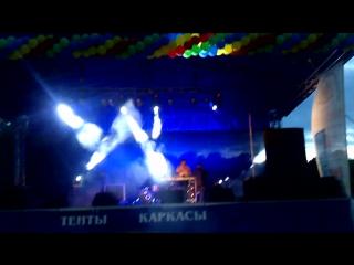 Концерт посвященный Дню города Пионерский (М. Гребенников) июль 2015 г.