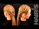 Техника плетения необычной декоративной косички - видео-урок (мастер-класс) Hair´s How