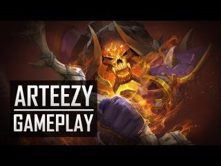  DOTA2  Arteezy plays Clinkz  PUB Game 
