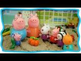 Развивающий мультик.  Свинка Пеппа с друзьями в летнем домике Овощи для детей Peppa Pig. Vegetables
