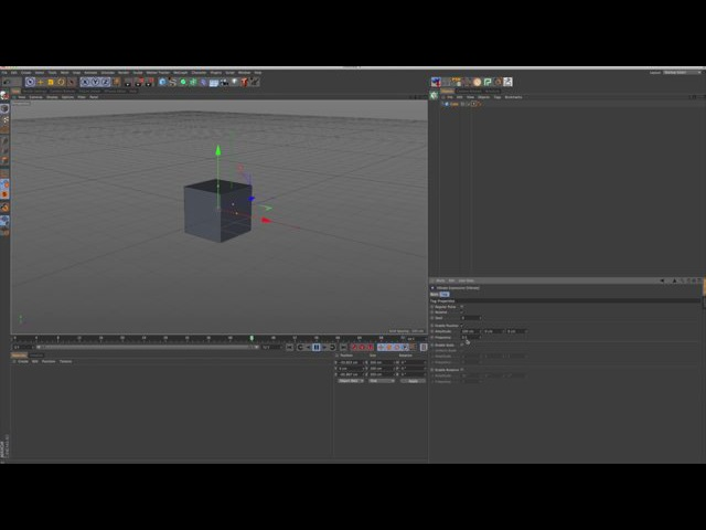 C4D Tutorial Perpetual Motion Using Little To No Keyframing in Cinema 4D