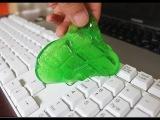 Гель для чистки клавиатуры, очиститель - Super Clean Magic Cleaner Gel (гелевый лизун-очиститель для компьютерной клавиатуры Cyber Clean) 1
