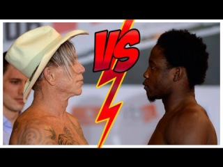Бой Микки Рурк и Эллиот Сеймур 28.11.2014 / Mickey Rourke vs Elliot Seymour full fight