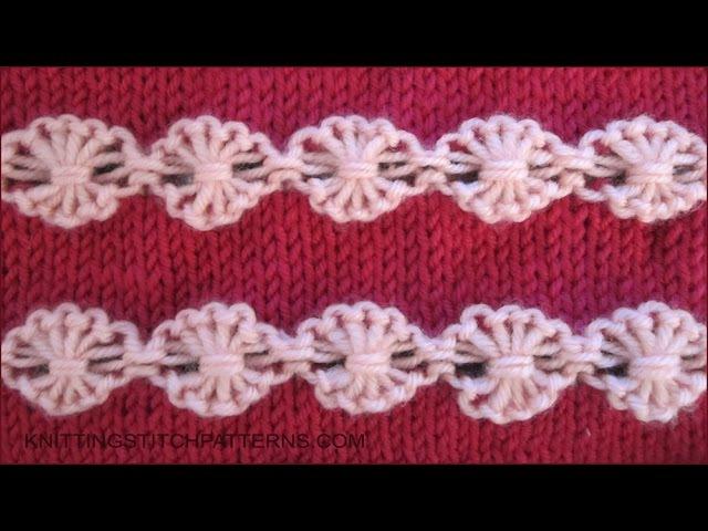 Flowers in a Row - Ornamental Stitch
