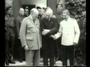 Winston Churchill with  Harry S  Truman and Joseph Stalin 1945
