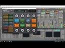 Ableton live. краткая импровизация на готовой петле. improvisation on the previously typed loop