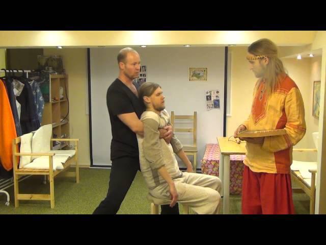 Ладка поясницы через вытяжку. 3 урок Казак КостоПрав