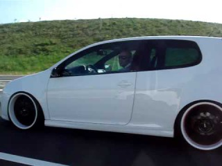 Golf 5 GTI in Action with 10x20....