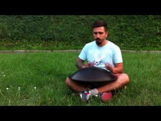 GUDA -  musical instrument, unique tongue drum with overtones (Mucky Pup improvisation, Ukraine)