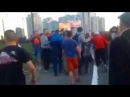 Осокорки - жестокая драка (на стройке протест) Киев видео 19.05.2015