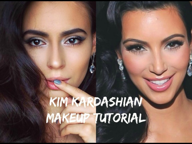 Kim Kardashian Makeup Tutorial/Макияж Ким Кардашьян