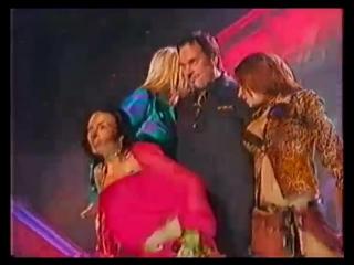 ВИА ГРА и Валерий Меладзе - Океан и три реки (Песня Года 2003 Отборочный Тур, Тв версия)