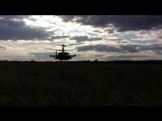 Предельно низкий полет Ка-52