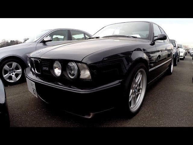 1993 BMW M5 127K LHD Japan Car Auctions Auto Access Japan