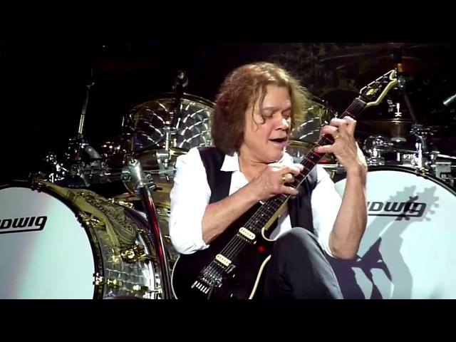 Eddie Van Halen Guitar Solo 2013