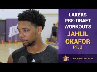Jahlil Okafor on Kobe Bryant: 'Hopefully He'd Be Super Hard On Me'