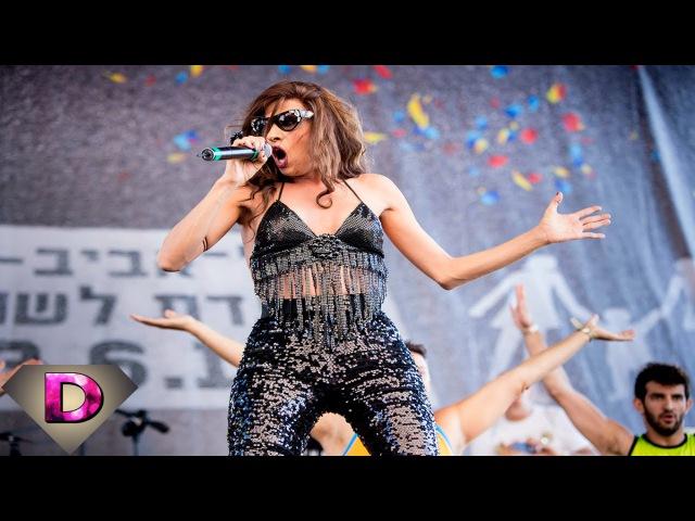 Dana International - Tel Aviv Pride Parade 2014 דנה אינטרנשיונל במצעד הגאווה