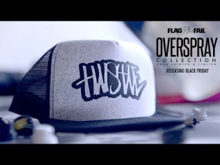 The OVERSPRAY Collection by Flag Nor Fail