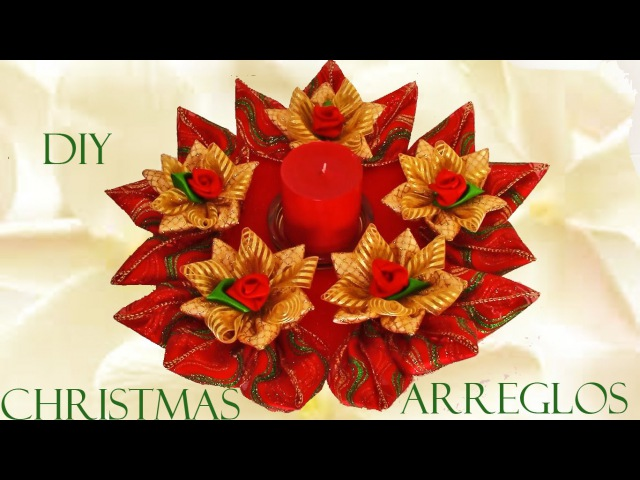 DIY arreglos de navidad - Christmas arrangements