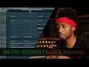 METRO BOOMIN   Kicks and Basslines   FL Studio   Razer Music