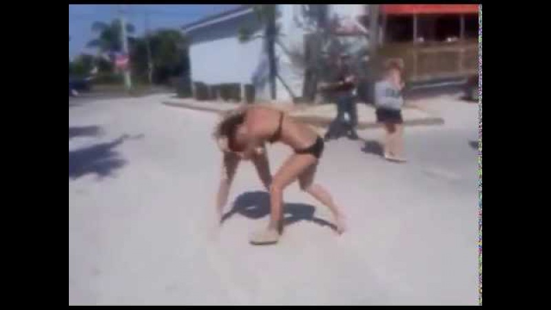 Nasty Beach GIRL Fight