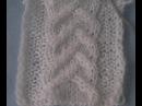 Вязание спицами: узор с перемещением петель