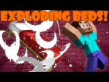 Почему кровати взрываются в аду ?   Машинима Майнкрафт