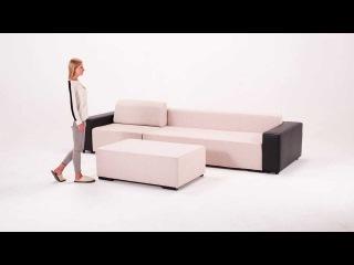 Механизм раскладывания углового дивана