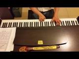 Dschinghis Khan Boney M Чингиз Хан Бони Эм - исполнение на пианино