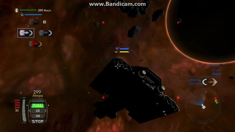 Dedalus vs Romulan