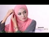 Cara Berjilbab wajah Bulat Hijab pashmina simple Kreasi Shawlbyvsnow Hijab Tutorial