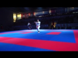Video final Kata Male Karate1 istanbul 2015 SOFUOGLU ALI (TUR) VS GEOFFRAY WILLIAM (FRA)