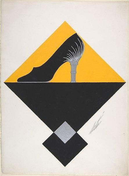 Легендарный Эрте, прославившийся именно как модный иллюстратор 1920-30-х годов, помимо обложек для Harper's Bazaar создавал также и эскизы для некоторых предметов одежды и аксессуаров.